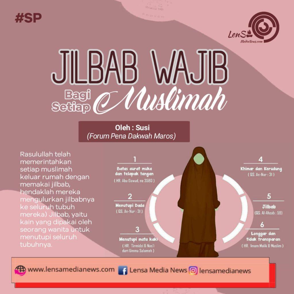 Jilbab Wajib Bagi Setiap Muslimah Lensa Media News