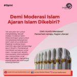 Demi Moderasi Islam Ajaran Islam Dikebiri?