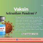 Vaksin Selesaikan Pandemi?